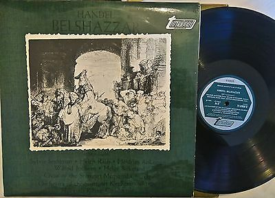 """Handel - Belshazzar, 2 Of 3, 12"""" Turnabout Lp's, See My Other In Series"""