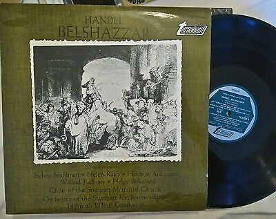 """Handel - Belshazzar, 3 Of 3, 12"""" Turnabout Lp's, See My Other In Series"""