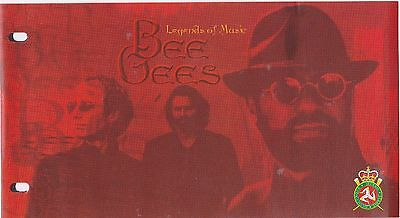 Bee Gees Isle of Man Stamps presentation pack