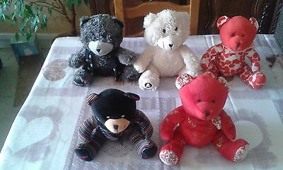 Lot  De 10  Nounours De Collection Nocibe