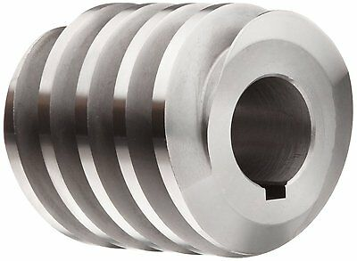 Boston Gears Worm Gear 1 Inch Bore 6 inch Pitch 14.5 Pressure Angled New Durable