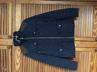 Zara Ladies' Navy Quilted Jacket, Size S