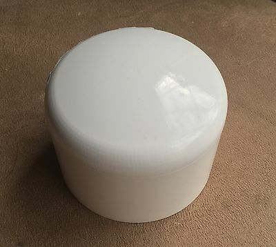 """2.5"""" (2 1/2 inch) PVC pipe end cap round"""