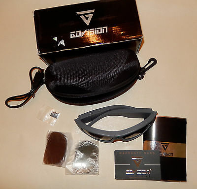 GoVision 1080P HD Video CAMCORDER Glasses with Protective Case NEW