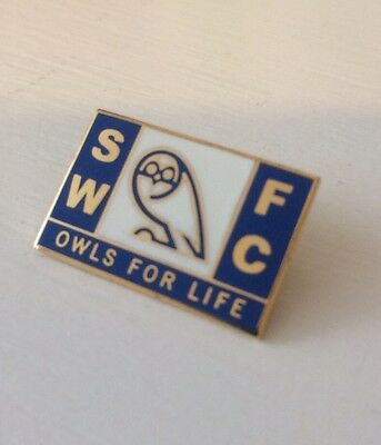 Sheffield Wednesday Supporter Enamel Badge - Owls For Life