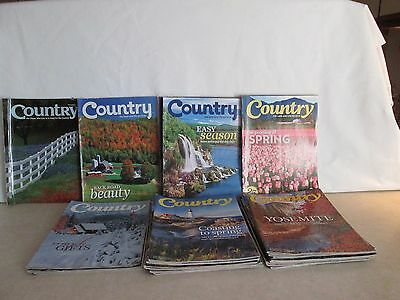 30 Country Magazines  Lot 2009-2015