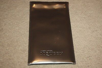 Alexander McQueen Glasses Sunglasses Spectacles Silver Soft Case Pouch and Cloth