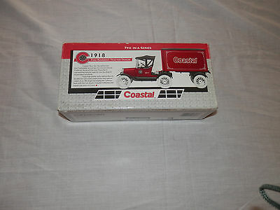 Coastal 1918 Ford Runabout Tractor Trailer Diecast Truck Bank 7th in Series