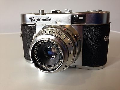 Vintage Voigtlander Vito B 35mm Camera in very good condition