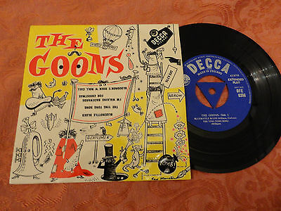The Goons 4-Track EP 1956 DFE 6396 **NEAR MINT**