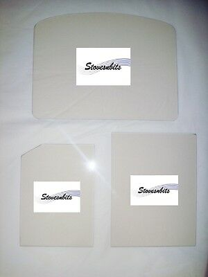 Stovax Stove Glass - Heat Resistant Stove Glass - Various Models