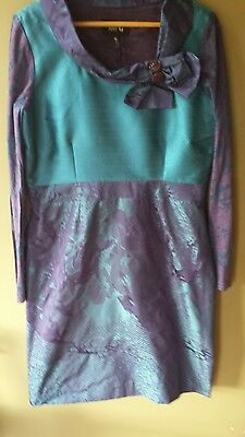 Stunning Fee g dress by Irish Designer.  Mother of the bride, races, cruise. 16