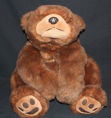 "Ty Jumbo Brown Bear 1996 PAWS 27"" Vintage Plush"