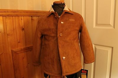 Outback Boy's Plainsman Micro suede Jacket Size M New with Tags.