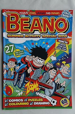 BEANO Summer Activity Special 2014 - Complete Sticker Set - Mint