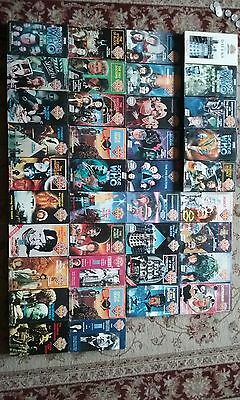 classic Doctor who vhs lot