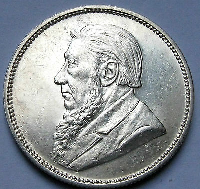 South Africa 2 Shillings 1897 near Uncirculated