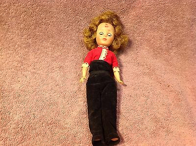 "Vintage Toni 10"" American Character  doll for parts"