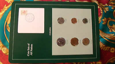 Coin Sets of All Nations Canada w/card 1986 - 1988 $1 dollar Duck 1988 UNC
