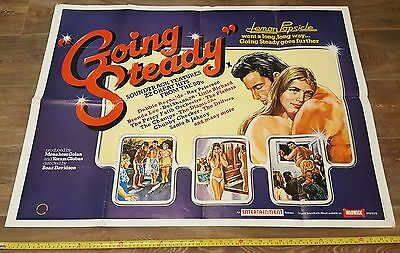 "Movie Poster ""Going Steady"" 1970's"