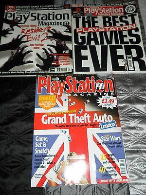 Assortment of PlayStation 1 Magazines (For PS1 PS2 PS3 PS4 Collectors)