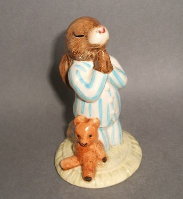 Royal Doulton Bedtime Bunnykins DB55 1986 Mint Condition