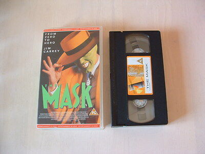 The Mask Vhs Tape**jim Carrey**
