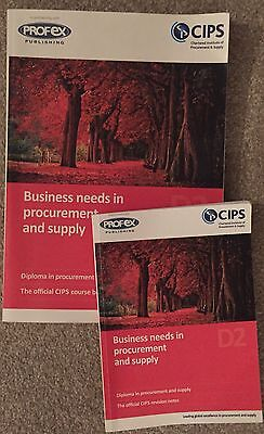cips level 4 - D2 Business Needs In Procurement And Supply