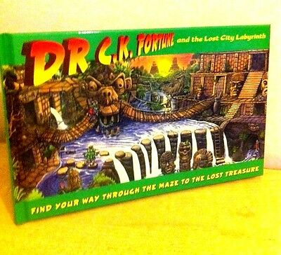 Childrens Maze Puzzles - Dr C.K. Fortune and the Lost City Labyrinth Lagoon 8da