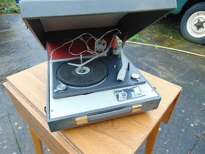Vintage Bsr Ua50/3 Record Player Needs Attention