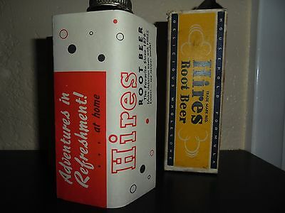 Vintage Hires ROOT BEER Household formula with box