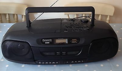 Vintage Panasonic RX-DT401 Boombox with Twin Tape, CD and Radio