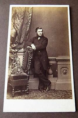 LONDON CDV c1860s of a Wealthy Man by Mayall (c)