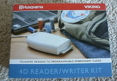 Husqvarna Viking USB 4D Reader/Writer Kit for Orchidea Rose #1+ Iris Scandinavia