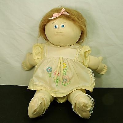 """Cute Doll Homemade in the Style of Cabbage Patch Doll 21"""" tall"""