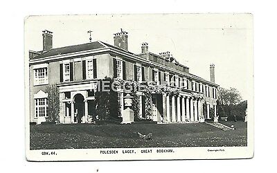 Surrey: Leatherhead: Great Bookham: Polesden Lacey:  1963 Frith Pc