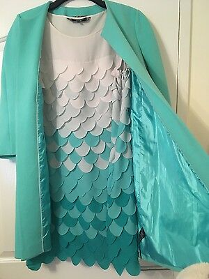 mother of the bride outfit turquoise