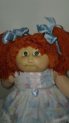 Vintage 1985*Red head Cabbage  patch girl**