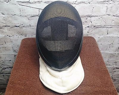 ABSOLUTE FENCING GEAR FENCING HELMET Padded Velcro 350n Face Mask Size Small