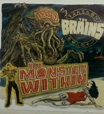 The Brains- Monster Within Sticker
