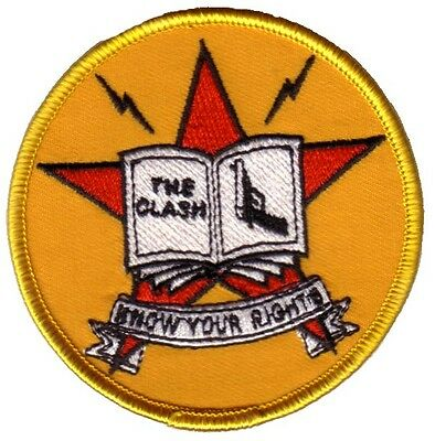 The Clash- Know Your Rights Embroidered Patch