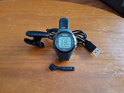 """"""" Excellent """" Bushnell Neo XS Gray GPS Watch W/ Charger"""
