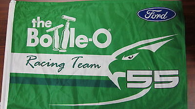 Ford Falcon Bottle-O Racing Team Flag V8 Supercars Bathurst Pra