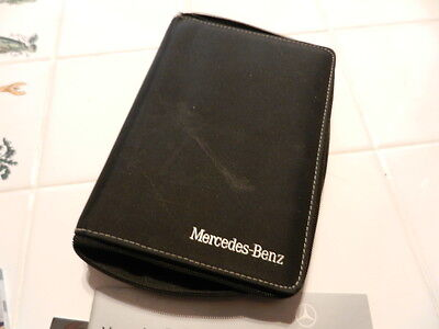 Mercedes Ml Series 2009 Owners Manual Books And Wallet