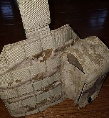 AOR1 Eagle Industries Drop Leg Molle Panel With Medical Pouch - OLDGEN