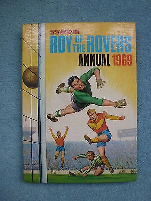 Roy of the Rovers (Tiger) annual. Hardback 1969 English