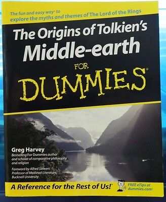 The Origins of TOLKIEN'S Middle Earth for DUMMIES !!         MSRP $19.99