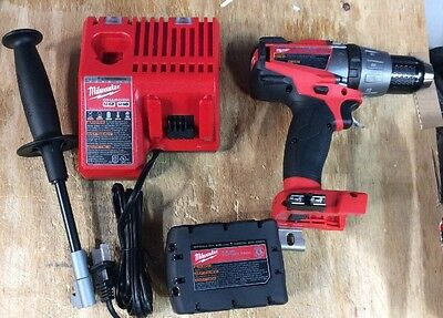 Milwaukee 2704-20 Fuel Hammer-drill - 1 XC5.0 Battery & M12 & m18 Charg All NEW