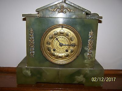 Marble French Clock for parts or repair