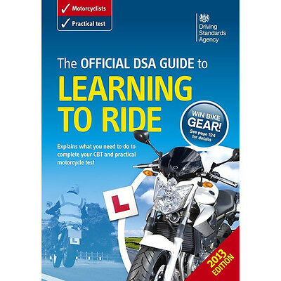 Official DSA Guide to Learning to Ride Book Motorbikes